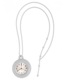 Silikon Schlüsselband Uhr Weiß