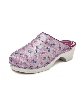 LAST CHANCE: size 41 Bighorn Butterfly Pink PU