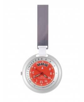 Swiss Medical Uhr Professional Line Silber Rot - Limited Edition
