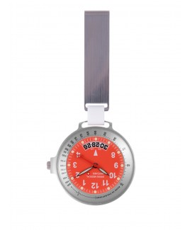 Swiss Medical Uhr Care Line Silber Rot - Limited Edition