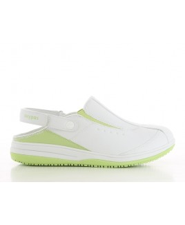 Oxypas Iris Weiß/Grün