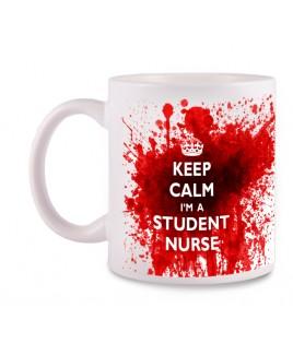 Tasse Student Nurse mit Namensaufdruck
