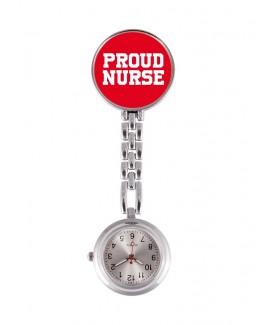 Schwesternuhr Proud Nurse